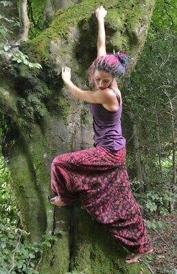 Winter Corduroy HAREM TROUSERS Hippy Festival Alibaba afghani Boho Baggy Pants yoga pockets