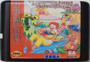 Mcdonald's Treasure Land Adventure (1993) 16 bits para Sega Genesis/Sistema De Md
