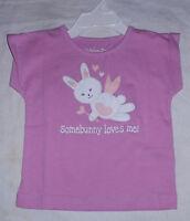 Kids Korner Some Bunny Loves Me Easter Rabbit Shirt 9 Months Purple Angel Cupid