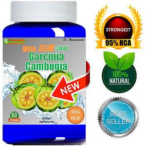 100-Puro-Garcinia-Cambogia-Extract-95-di-HCA-MEGA-1000mg-Dieta-Perdita-Di-Peso-Grasso