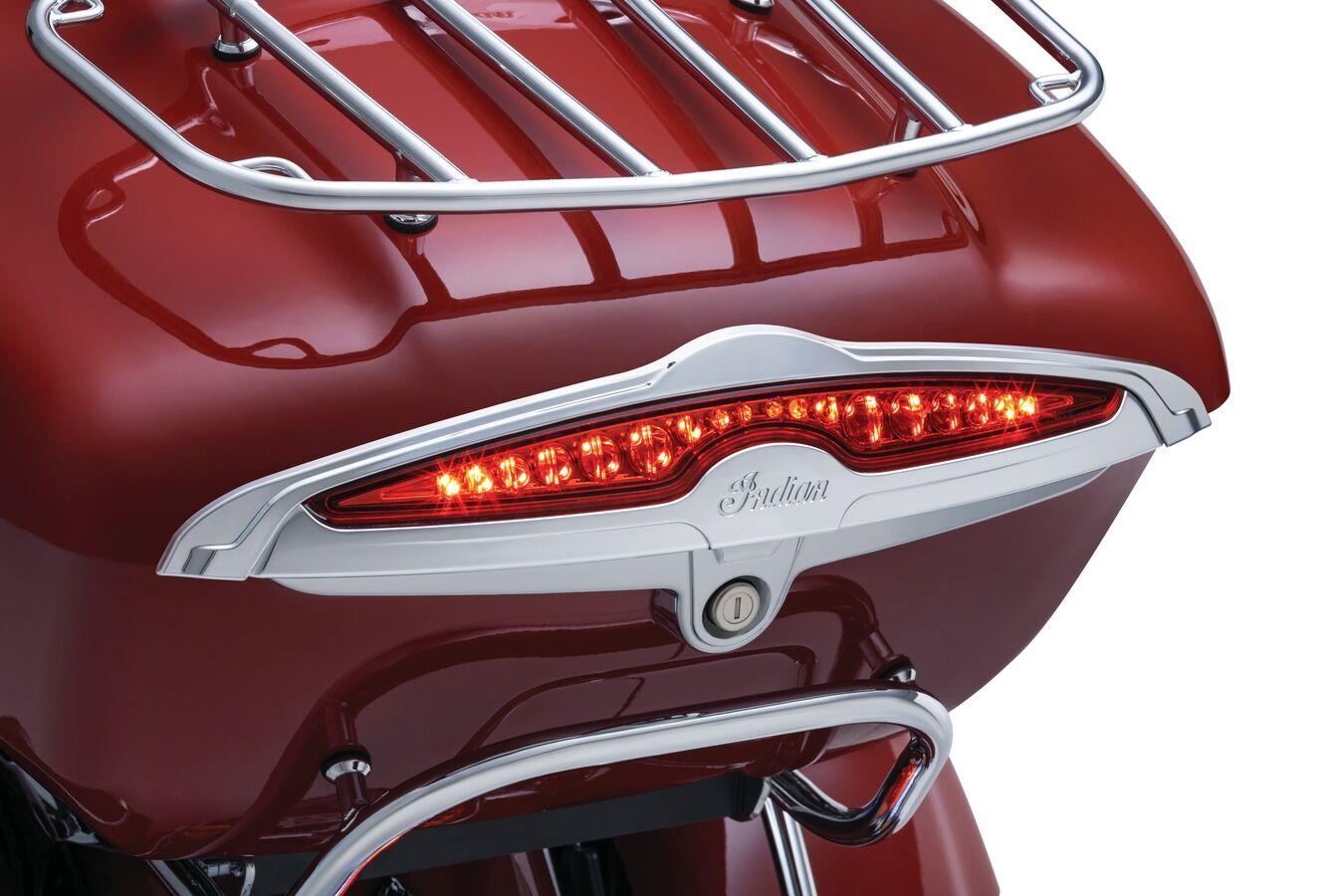 Kuryakyn Chrome Rear Tour Pak Trunk Light Accent Roadmaster Indian 2015-2018