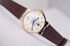 Ulysse Nardin Maxi Marine Chronometer 18kt gold steel 265-66/60 BNIB last one