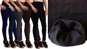 6fa1c63b2be767 1 or 3 Women's Warm Thick Fleece lined Winter Fashion Leggings Lot ...