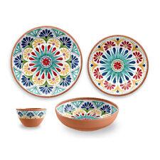 Rio Medallion 16 Piece Melamine Dinnerware Set by TarHong