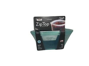 Zip Top Reusable Containers 24 oz Frost Colored 1 Medium Dish