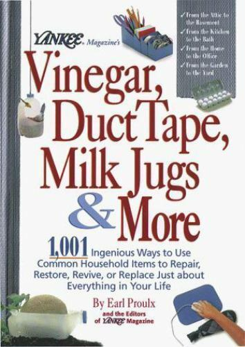 yankee magazines vinegar duct tape milk jugs
