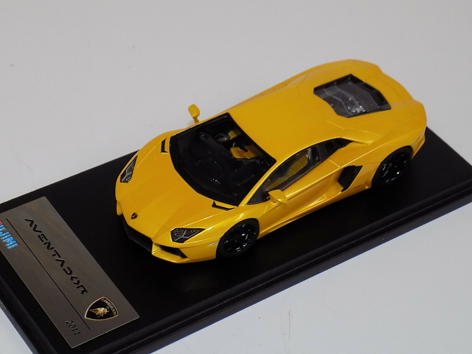 1 43 TSM Fujimi Lamborghini Aventador yellow Orion