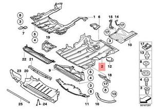 Genuine BMW E90 E90N E91 E91N E92 E92N Engine Splash Shield OEM 51757129341  | eBay | Bmw E92 Engine Diagram |  | eBay