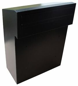 Rear Access Letter Box.Details About W3 3 Rear Access Post Box In High Quality Steel