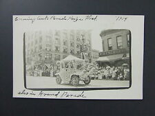 Elks Parade Auto Float Rothenberg Schloss Cigars Denver Colorado CO RPPC 1914