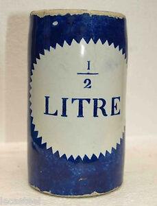 rare-chope-a-biere-19eme-en-faience-un-demi-litre-plombe-estaminet