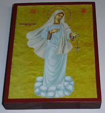 Maria Medjugorje Muttergottes Madonna Ikone Icon Icono Icona Icone mère de dieu