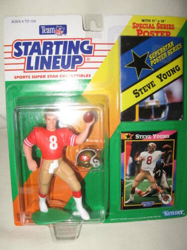 Starting Lineup RARE 1992 Steve Young NEW IN BOX