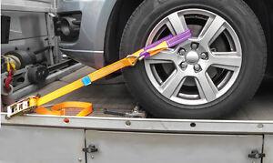 4x-Auto-Zurrgurt-Autotransport-Spanngurt-PKW-Radsicherung-Radverzurrung