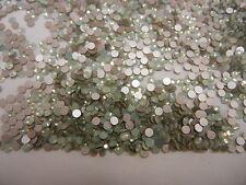 360 Swarovski xilion flatbacks,12ss Chrysolite Opal color /Foiled #2028