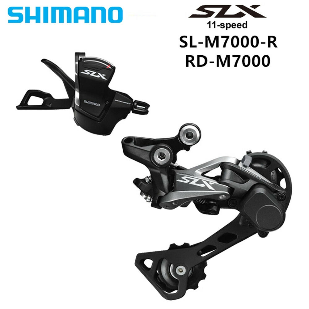 SHIMANO SLX M7000 11S MTB M7000 right  Trigger Shifter + M7000 Rear derailleur GS  for wholesale