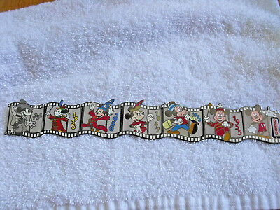 DISNEY STORE COUNTDOWN TO MILLENNIUM 7 PIN MICKEY MOUSE THROUGH THE YEARS SET