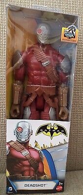 "DC COMICS BATMAN UNLIMITED 12/"" FIGURE  DEADSHOT DPM00 *NEW*"