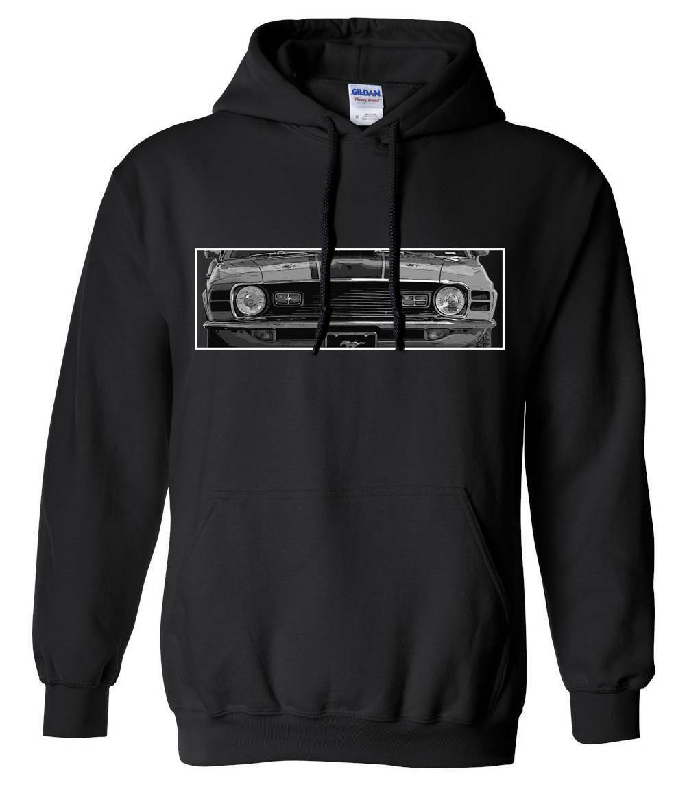Ford Mustang Mach 1 Hoodie, Muscle Car Sweatshirt, Car Enthusiast, Car Design
