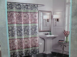 Image Is Loading West St Designs M Style Shower Curtain Sunil