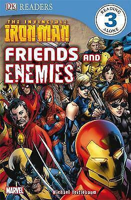 """1 of 1 - """"VERY GOOD"""" The Invincible Iron Man Friends and Enemies (DK Readers Level 3), Mi"""