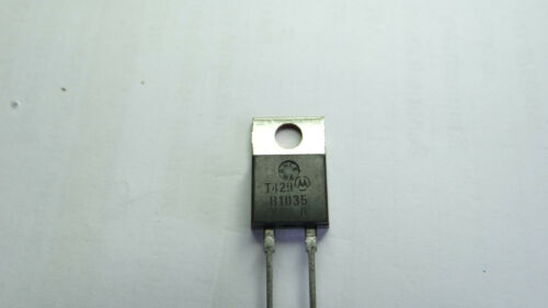 B1035 MBR1035 MOTOROLA SCHOTTKY BARRIERcRECTIFIERS 10 AMPERES 20 to 45 VOLTS