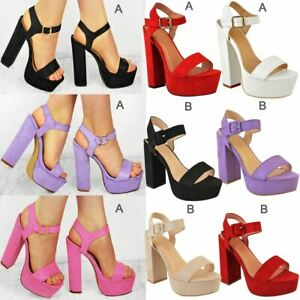 New-Womens-Summer-Platform-High-Heel-Sandals-Ladies-Open-Toe-Strappy-Party-Shoes