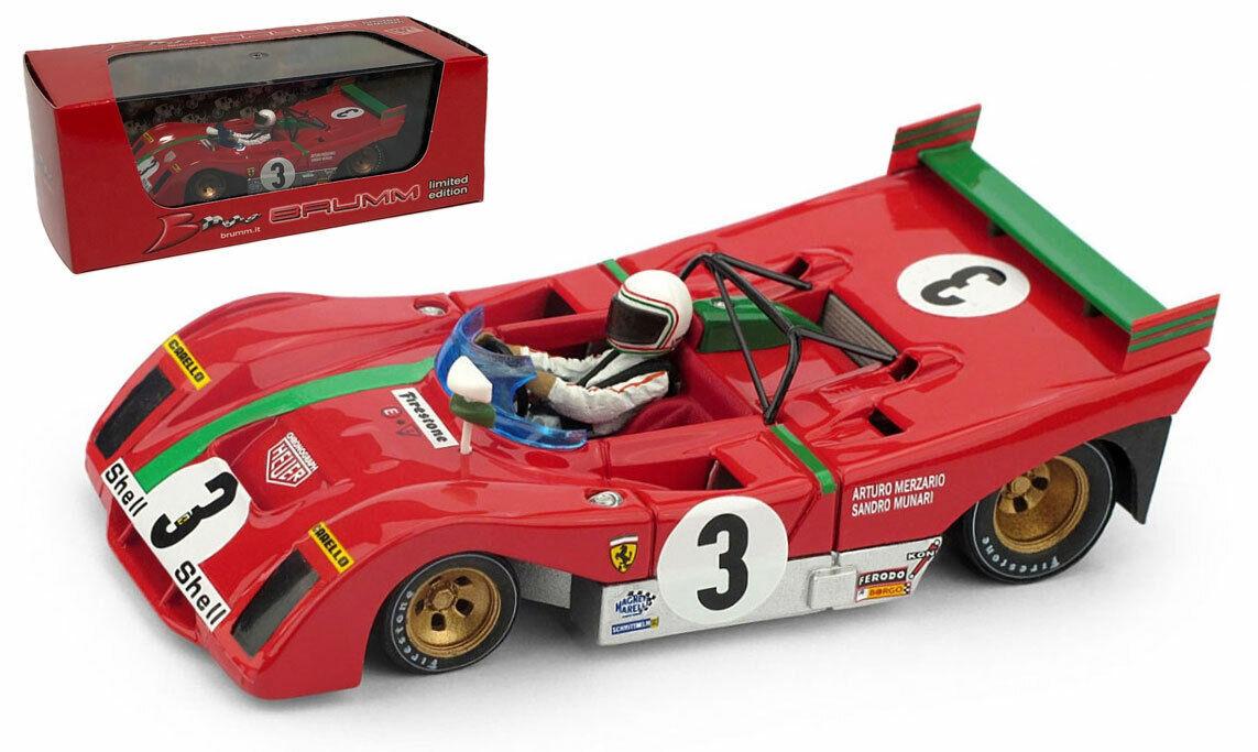 Brumm R261B-CHS FERRARI 312 PB  3 Winner Targa Florio 1972-Munari échelle 1 43