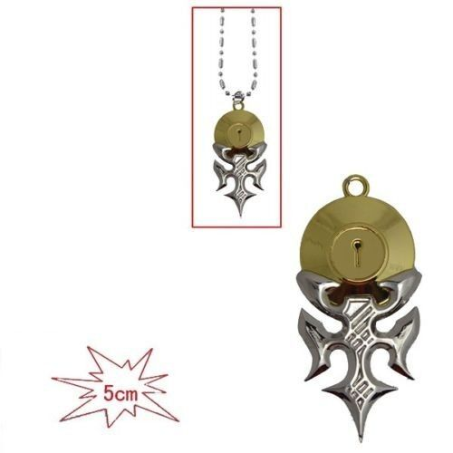 Japanese Anime Nisekoi Ichijyo Raku Lock Pendant Necklace New Gift Loose Pack