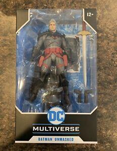 McFarlane DC Multiverse Batman Unmasked Flashpoint Action Figure IN HAND Rare!