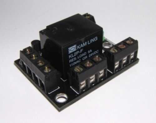 DPDT Relay Module Self Build Kit with 5VDC Relay Great for Arduino Raspberry PI
