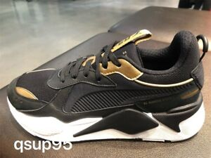 Puma RS-X Trophy Black Gold White 369451 01 Size 8-13 New  cb25a8f22