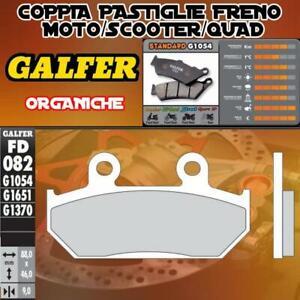 FD082G1054-PASTIGLIE-FRENO-GALFER-ORGANICHE-ANTERIORI-HONDA-XL-600-V-TRANSALP-91