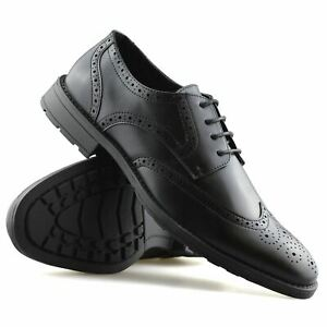 Mens-Smart-Casual-Lace-Up-Formal-Oxford-Brogues-Walking-Work-Office-Shoes-Size