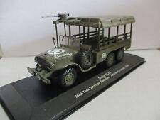 véhicule militaire 1/43 : dodge wc63 - 704th tank bestroyer battalion - arracour