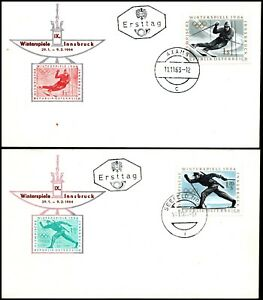 Austria 1963 Winter Olympics Innsbruck 1964 FDC
