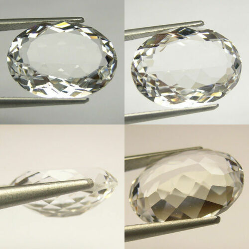 18x13 mm VVS 11 cts Huge  Oval Lab Simulated White Sapphire AAA C27