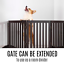 thumbnail 6 - Pet Gate Step Over Dog Gate Freestanding Assembly-Free Puppy Foldable Fence New
