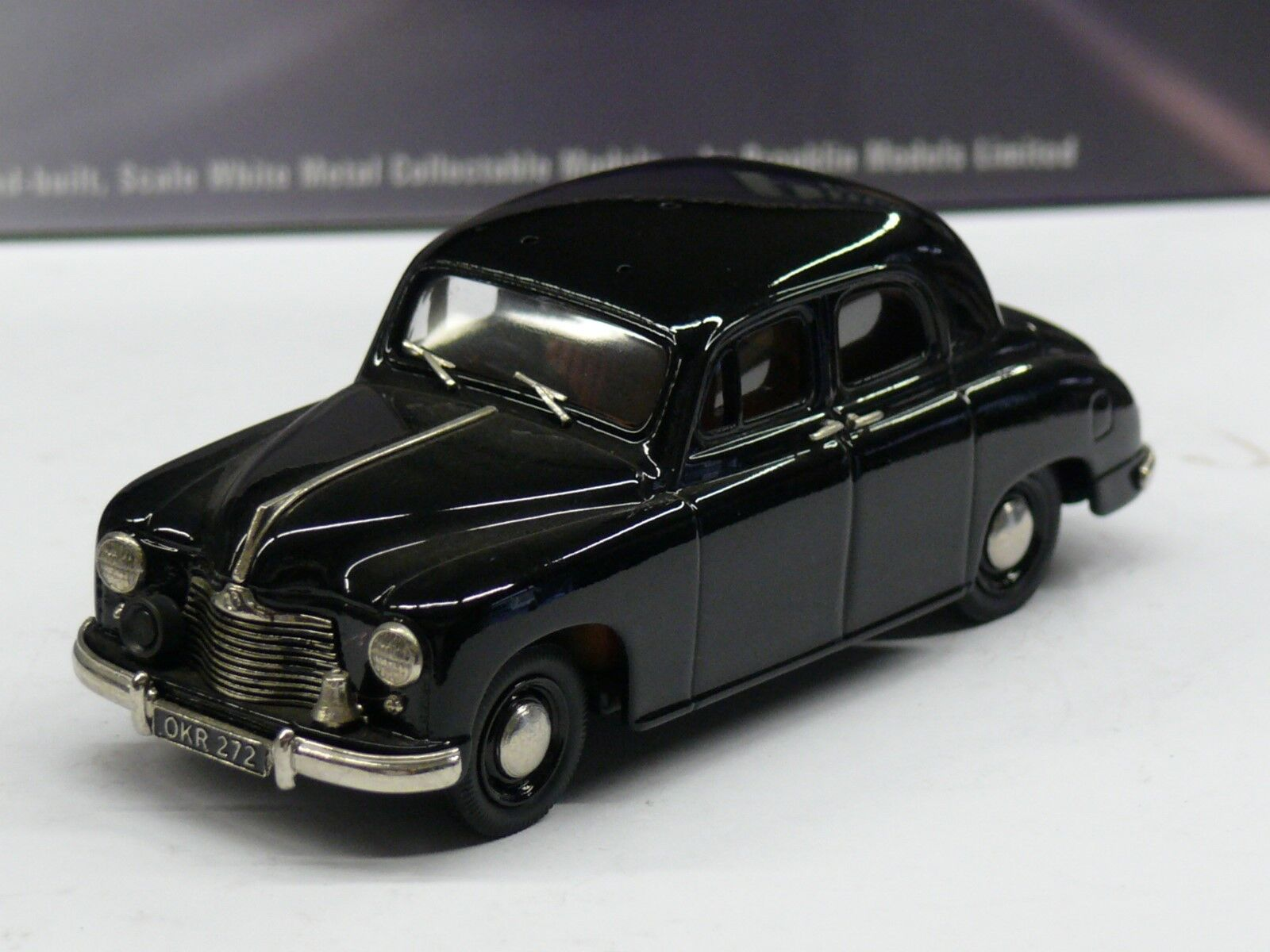 1/43 : 2018 SINGER SM 1500 KENT COUNTY CONSTABULARY, BROOKLIN POLICE Réf IPV.03