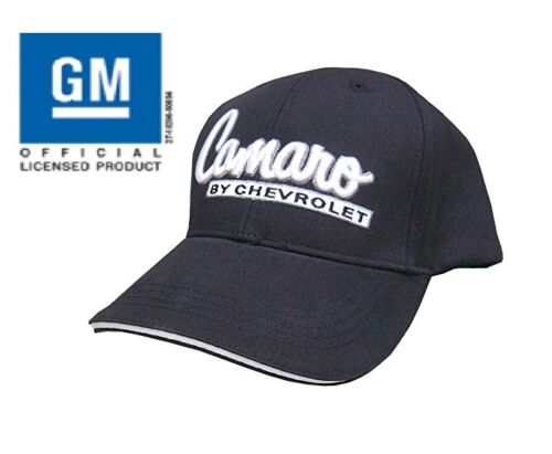 "Hat Cap Chevrolet Chevy /""Camaro By Chevrolet/"" Black 1St Generation CAMARO"