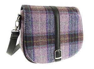 Authentic-Ladies-Harris-Tweed-Shoulder-Bag-Pale-Pink-LB1000-COL34