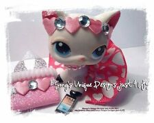 Littlest Pet Shop clothes accessories VALENTINE PINK/HEART CLOTHES - NEW LAPTOP