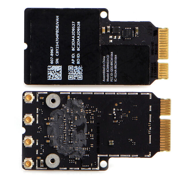 Mini BCM94331CD PCI-E WiFi Bluetooth Card for Apple iMAC A1418 A1419