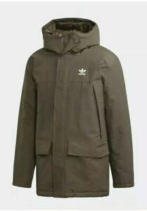 New-adidas-originals-Padded-Parka-Jacket-Winter-Coat-Men-039-s-Size-Medium-150