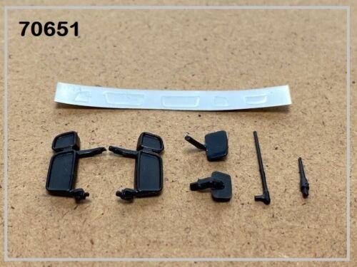 Tekno70651 Conjunto De Espejo scania 4 y R5 camiones de modelo de escala 1:50 Tekno