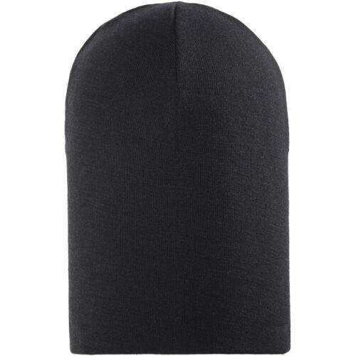 WOOLPOWER Lite Beanie Black 2019 de chapeau noir
