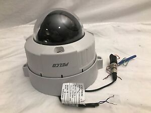 Pelco IS51-DWSV8S Camclosure-2 Outdoor Rugged Day/Night Mini Dome Camera
