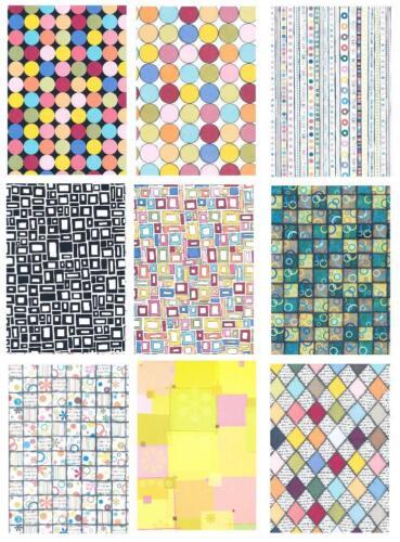 12 diseño arco-papeles pureza varietales formas din a4 papel juegos de scrapbooking 2080