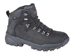 johnscliffe-waterproof-walking-boots-black-LEATHER-HIKING-BREATHABLE-lightweight