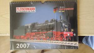 FLEISCHMANN calendario 2007 anniversario 120 anni - Italia - FLEISCHMANN calendario 2007 anniversario 120 anni - Italia